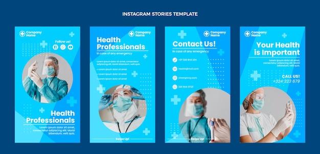Platte medische instagramverhalen