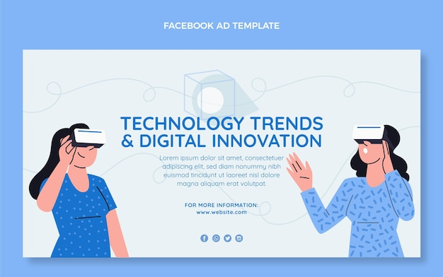 Platte minimale technologie facebook