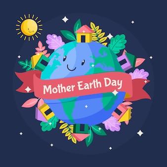 Platte moeder aarde dag evenement