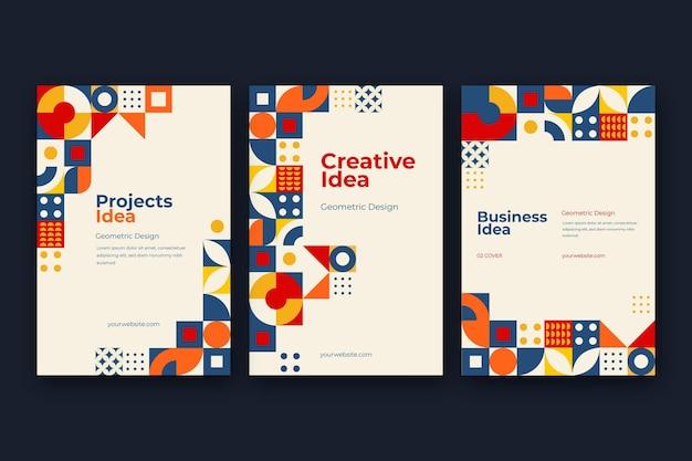 Platte mozaïek covers collectie covers