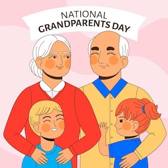 Platte nationale grootouders dag vs.