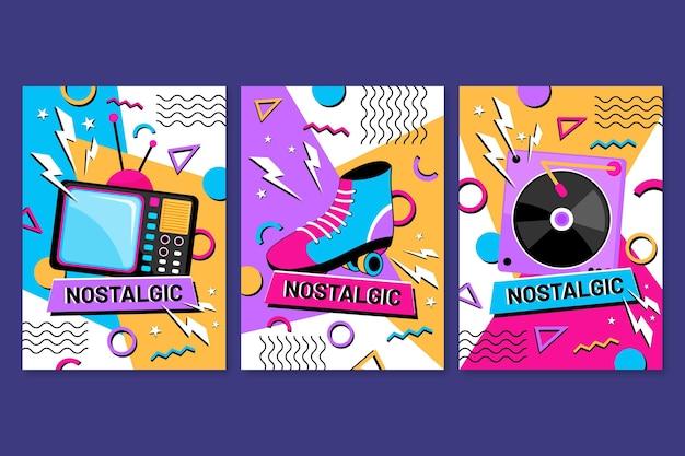 Platte nostalgische jaren 90 coverscollectie