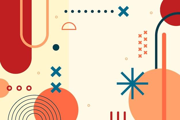Platte ontwerp abstracte achtergrond