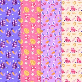 Platte ontwerp dag patroon collectie