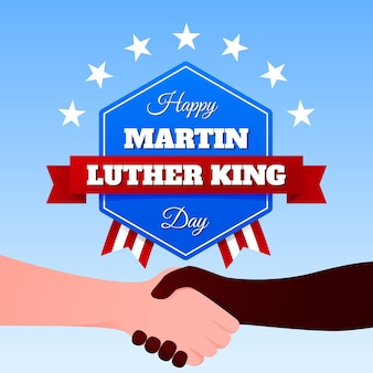 Platte ontwerp martin luther king dag