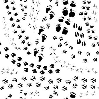 Platte ontwerp monochroom naadloze patroon