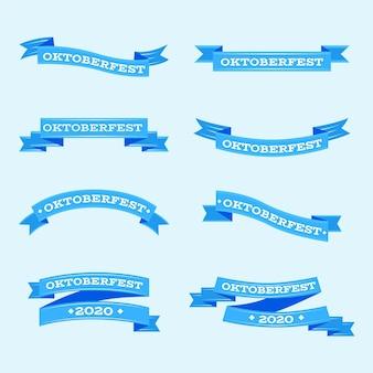 Platte ontwerp oktoberfest linten collectie