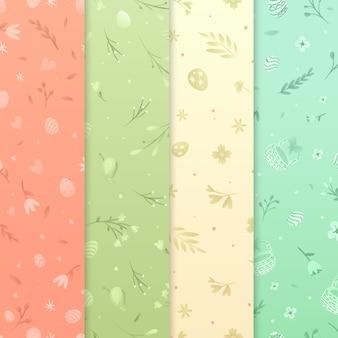 Platte ontwerp pasen dag patroon
