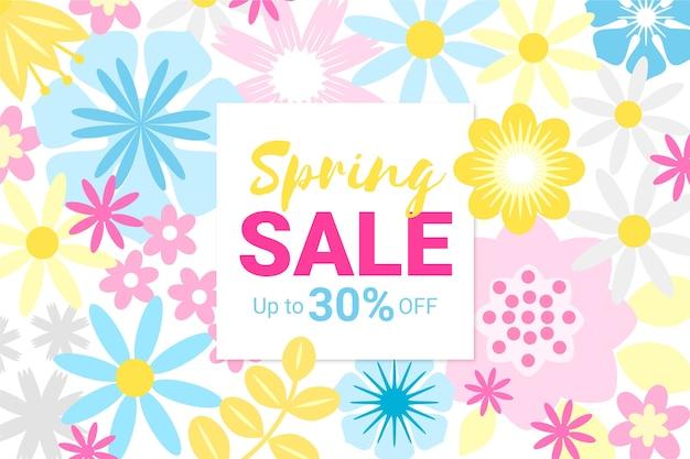 Platte ontwerp promotionele lente verkoop