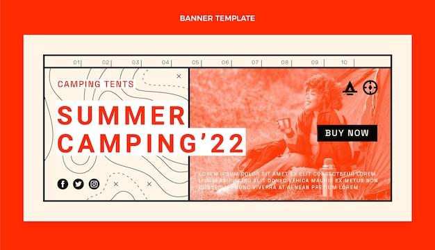 Platte ontwerp reizen verkoop banner