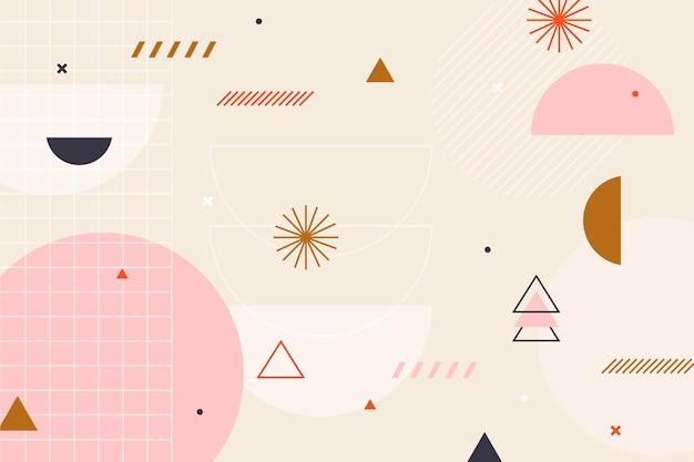Platte ontwerp van abstracte achtergrond