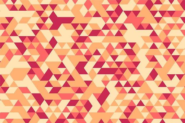 Platte ontwerp veelhoekige achtergrond Gratis Vector