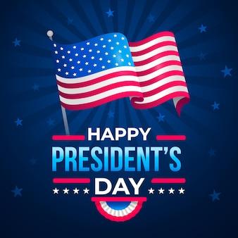 Platte ontwerp voorzitters dag viering