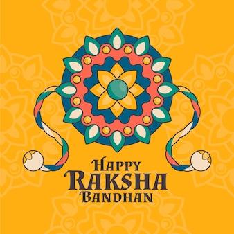 Platte raksha bandhan concept