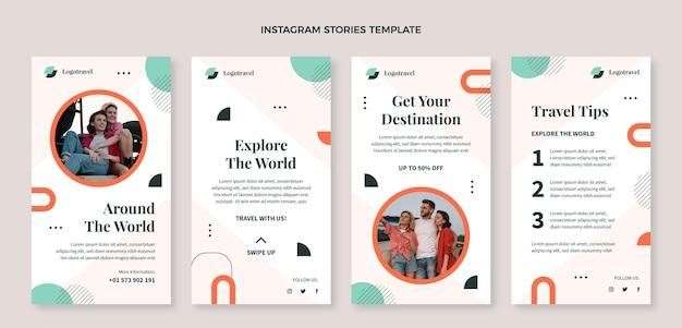 Platte reis instagram verhalencollectie