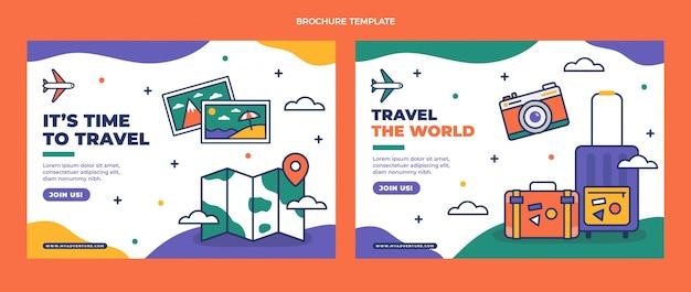 Platte reisbrochure