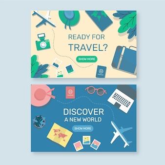 Platte reislandingspagina