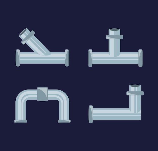 Platte set pictogramhulpmiddelen sanitair