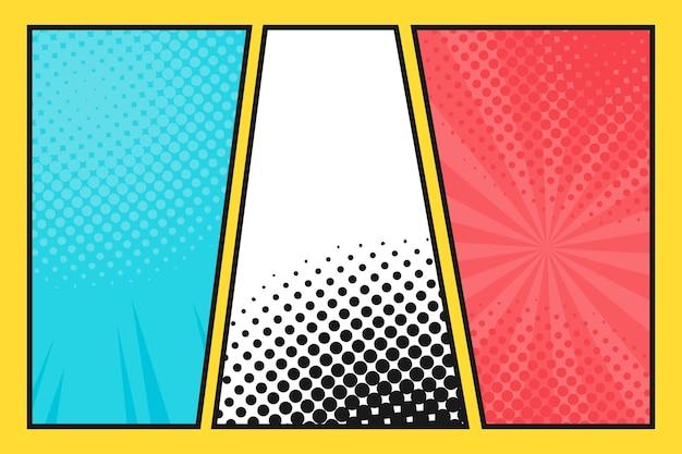 Platte stripstijl behang