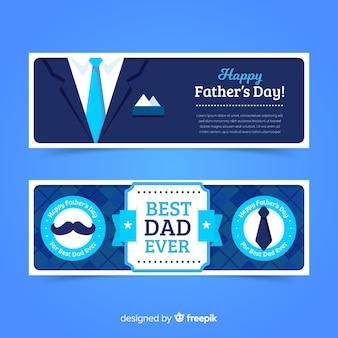 Platte vaders dag banners