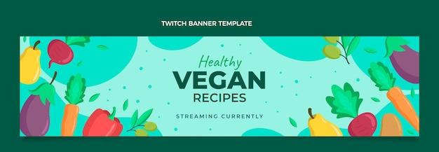 Platte voedsel twitch banner