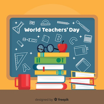 Platte wereld lerarendag