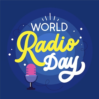 Platte wereld radio dag tekst