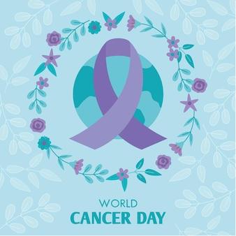 Platte werelddag voor kanker