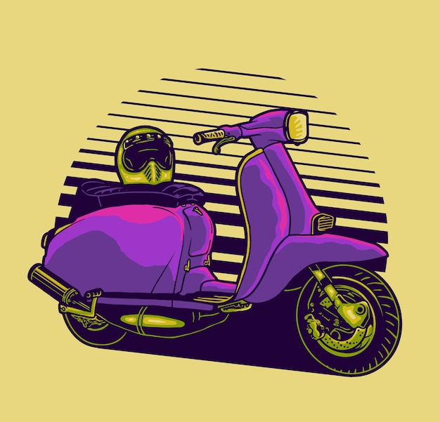 Plezier met scooter