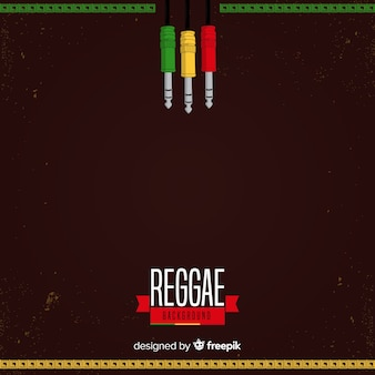 Plugt reggae achtergrond in