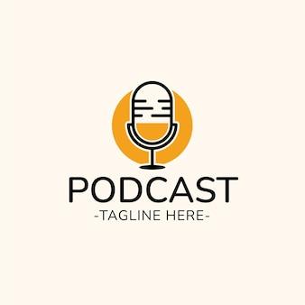 Podcast-logo ontwerp