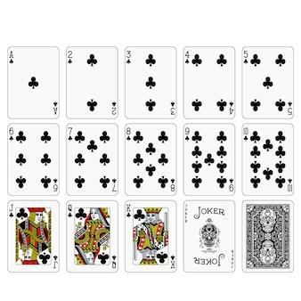 Poker speelkaarten ontwerpen
