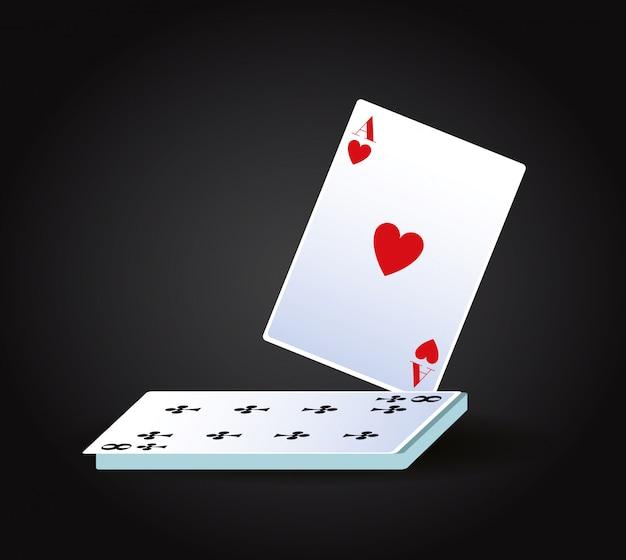 Pokerkaarten spel