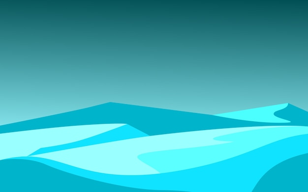 Polair ijslandschap