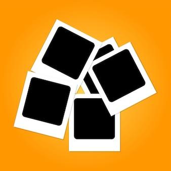 Polaroid-fotocollage