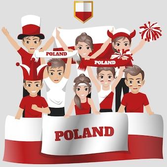 Polen national team supporter
