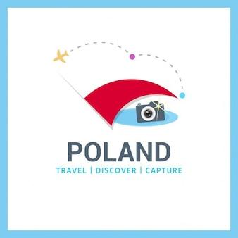 Polen travel symbol