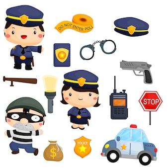 Politie en rover
