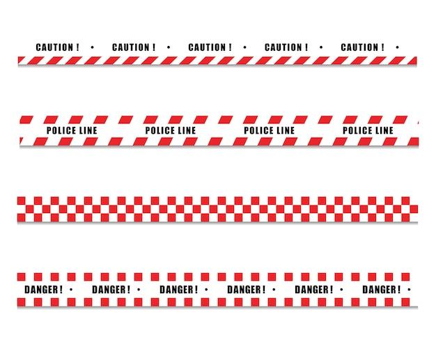 Politie lijn pictogram ontwerp ilustration