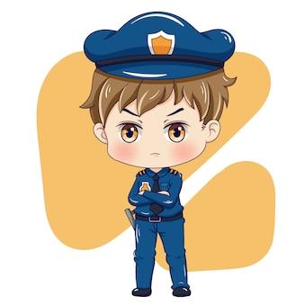 Politieagent karakter