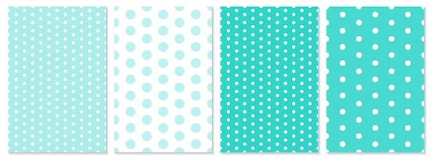 Polka dot patroon. baby achtergrond.