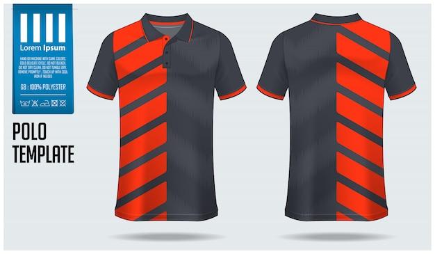 Polo shirt sjabloon