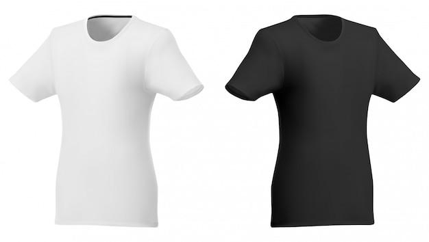 Polo sjabloon. shirt met korte mouwen