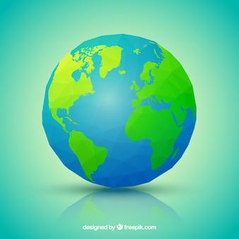 Polygonal aarde
