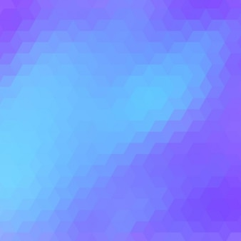 Polygonal achtergrond in blauwe tinten
