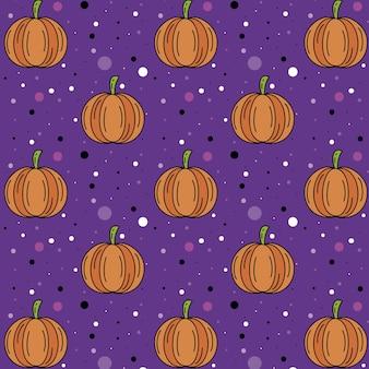 Pompoen halloween patroon