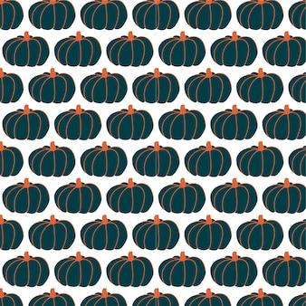 Pompoenen naadloos patroonontwerp