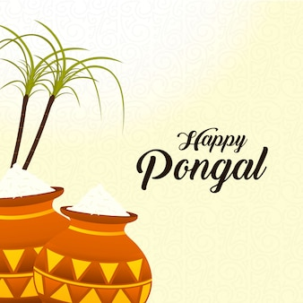 Pongal festival achtergrond