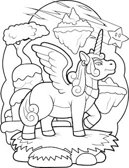 Pony eenhoorn