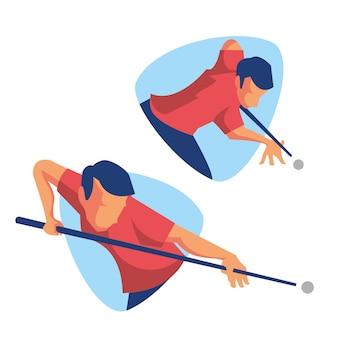 Pool biljart sport atleet
